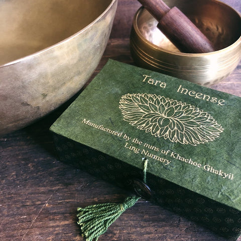 Green Tara Incense- Handcrafted by Tibetan Nuns