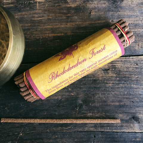 Rhododendron Forest Incense- Handcrafted by Tibetan Nuns