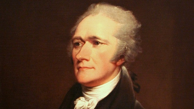 The November Readable:  Alexander Hamilton by Ron Chernow