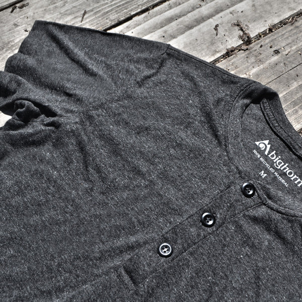 Henleys Made From 100% Recycled Materials!