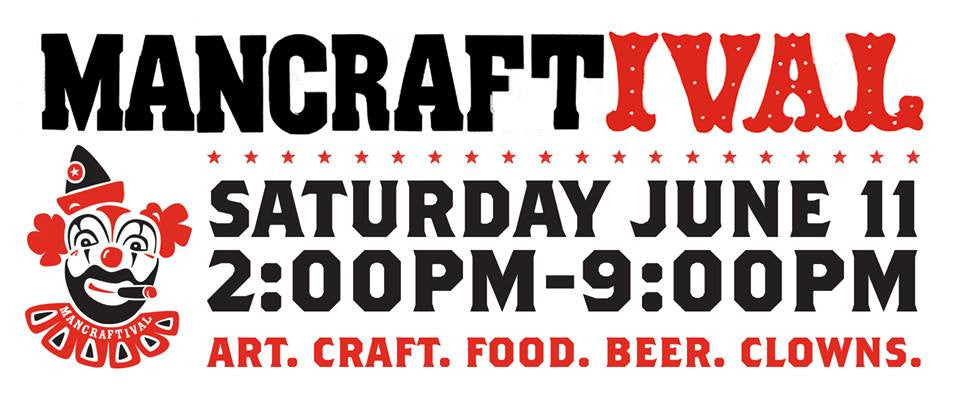Stop by Mancraftival This Saturday!
