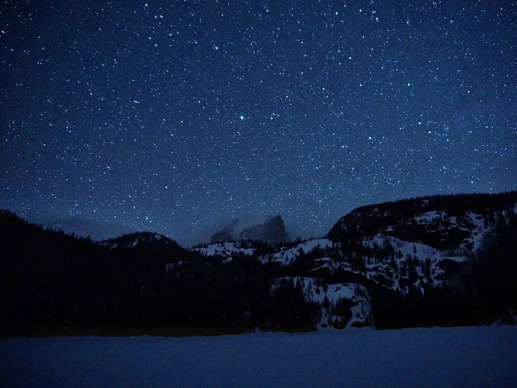 Hallet Peak Night Stars