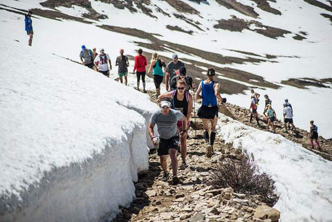 Leadville Marathon Snow