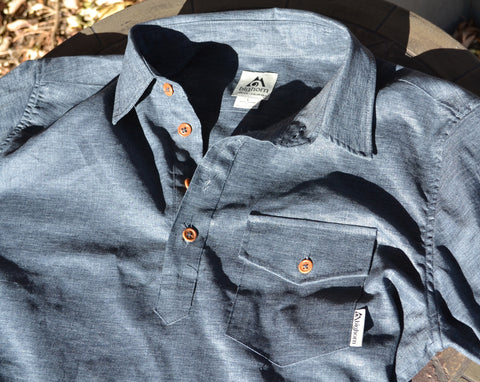 hemp work shirt