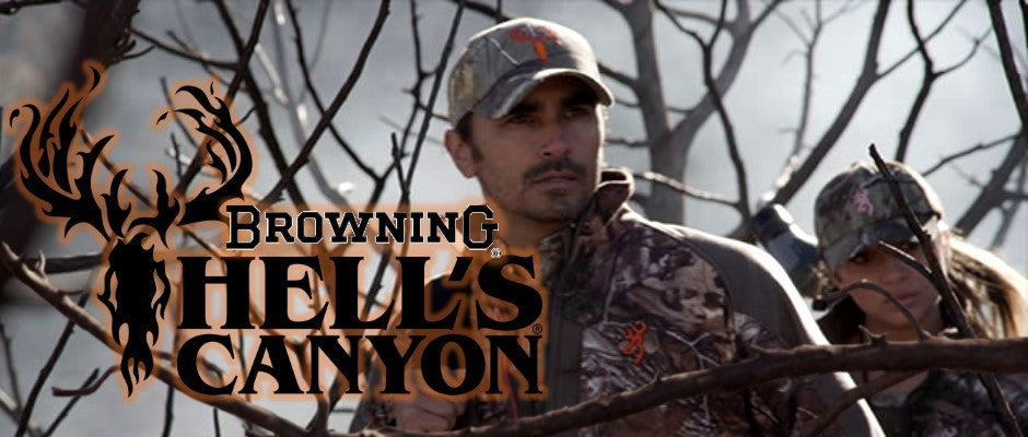 Browning Hell's Canyon Camo Clothing