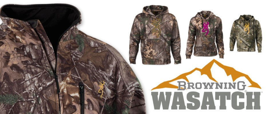 Browning Wasatch Camo Clothing
