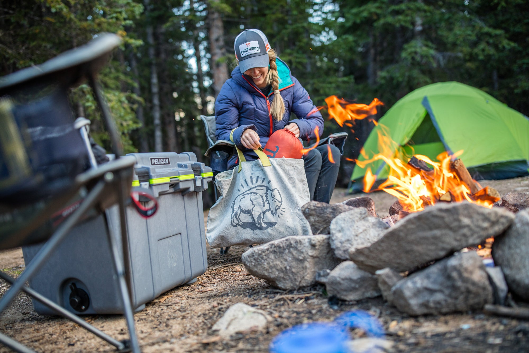 TOP 5 CHOPWOOD ITEMS FOR FALL CAMPING: RAIN, SNOW, OR SHINE