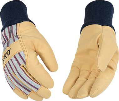 Lined Pigskin Palm/Fabric Glove 1927KW