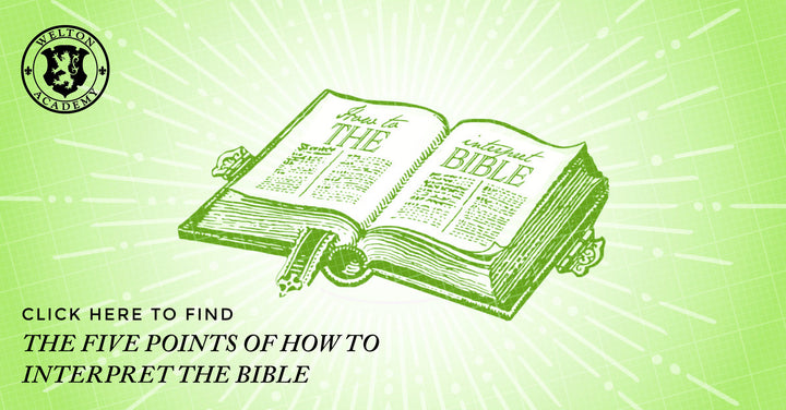 The 5 Points on How to Interpret the Bible