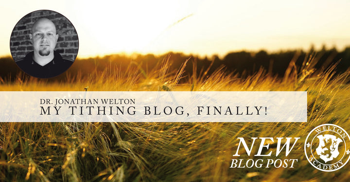 My Tithing Blog...Finally!