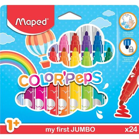 13MF069 - Crayons ColorPeps My First Jumbo Markers