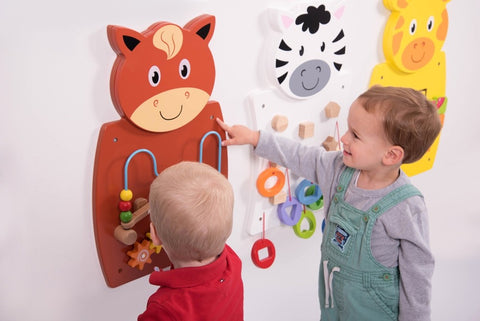 67ET083 - Animal Wall Panel Activity Set Small
