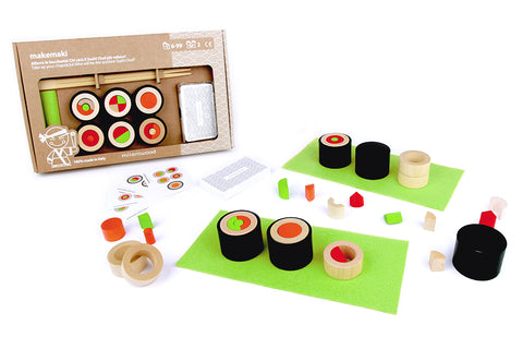 74JV007 - Makemaki Chef Sushi Activity Set