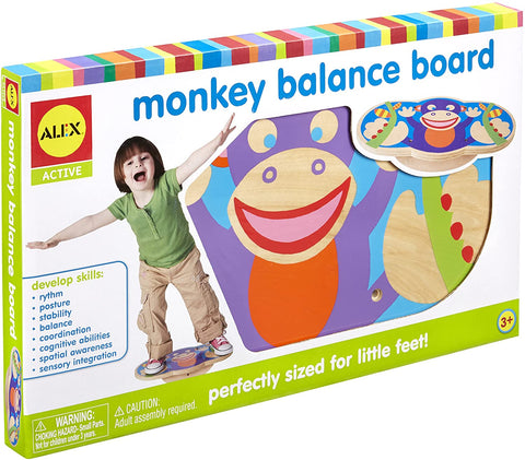 95MG066 - Monkey Balance Board