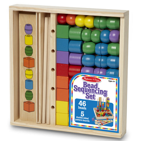 Melissa & Doug - Bead Sequencing Set