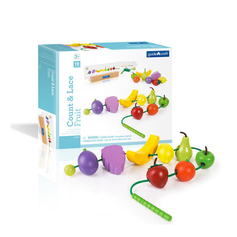 Activity Set - Count and Lace Fruit