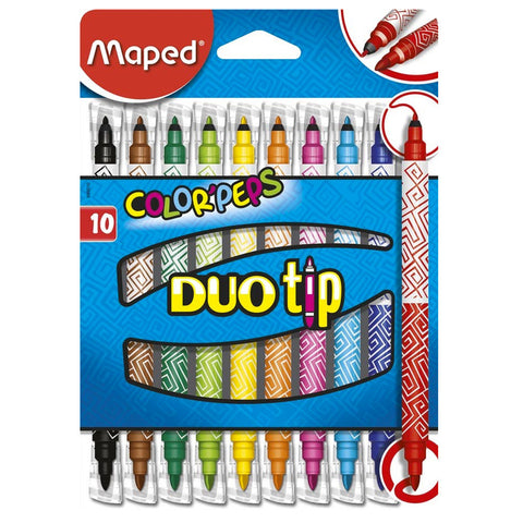 Crayons - Duo Tip Colorpeps Markers