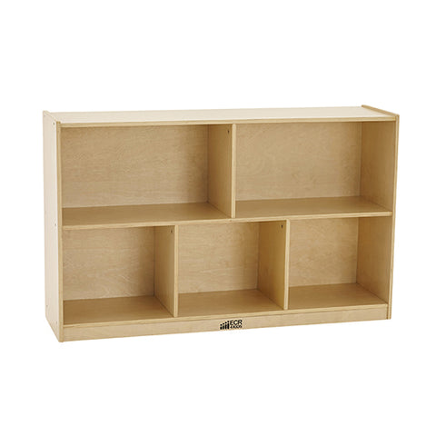 46ET094 - Birch 5 Compartment Storage Cabinet 76cm H