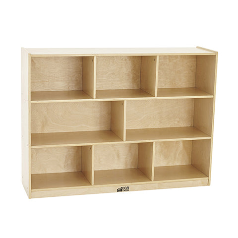 46ET095 - Birch 8 Compartment Storage Cabinet 92cm H