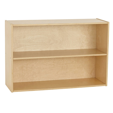 46ET103 - Birch Streamline 2-Shelf Storage Cabinet with Back 61cm H
