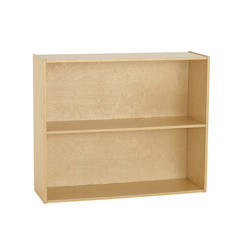46ET104 - Birch Streamline 2-Shelf Storage Cabinet with Back 76cm H
