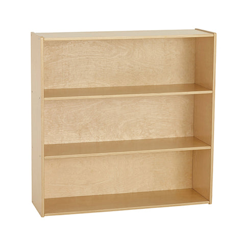 46ET105 - Birch Streamline 3-Shelf Storage Cabinet with Back 91cm H