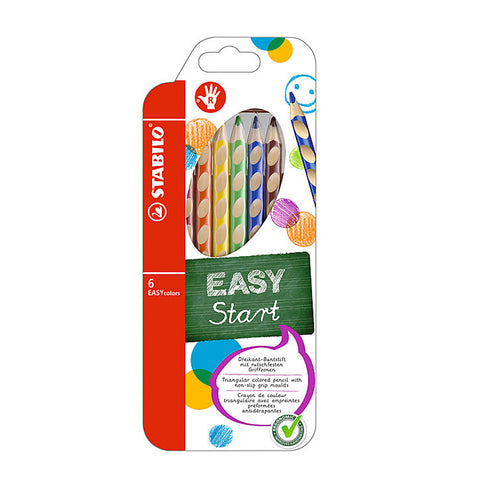 Coloring Pencils - Easy Color 6 Pack
