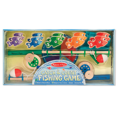 26MF131 - Melissa & Doug Catch and Count Fishing Game
