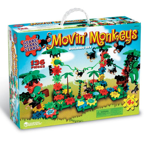 05MF119 - Building Set Gears Movin' Monkeys