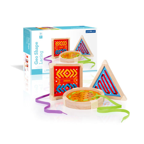 Activity Set - Geometric Shape Lacing