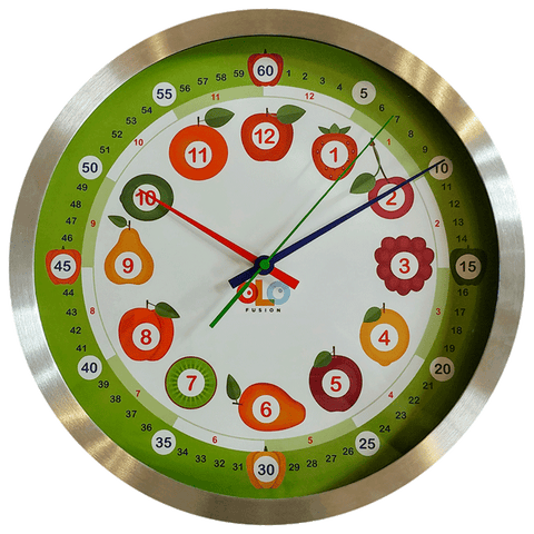 88AU032 - OLO-Fusion Fruit Learning Clock Kit