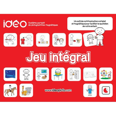 Pictograms emotions kit plan te for Ideo products