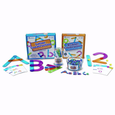 Activity Set - Letter and Number Construction