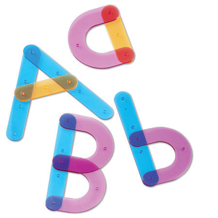 05JC005 - Letter Construction Activity Set