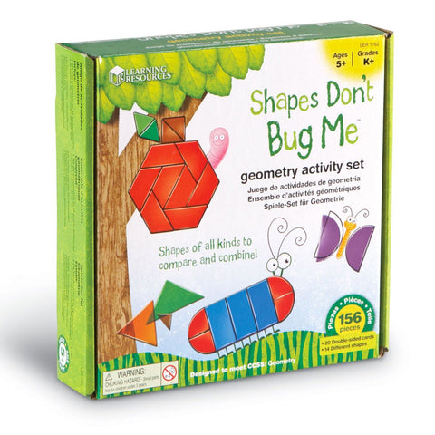 Activity Set - Shapes Don't Bug Me