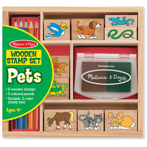 26MF128 - Melissa & Doug Animal Stamp Set