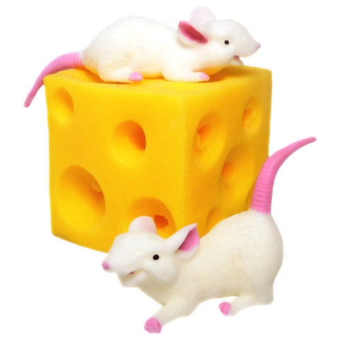 09MA008 - Fidget Stretchy Mice & Cheese
