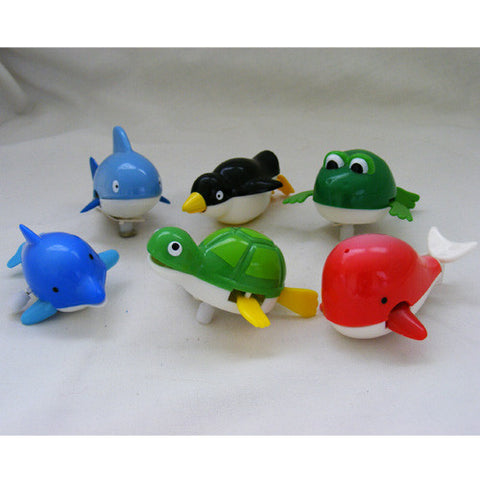 Wind-up Swimming Creatures