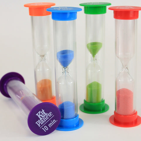 Timers - Sand Timers (Small) Combo Set