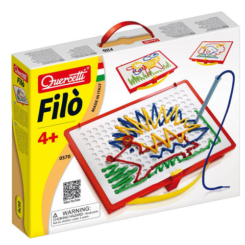 27JC033 - Filo Drawing with Laces Activity Set