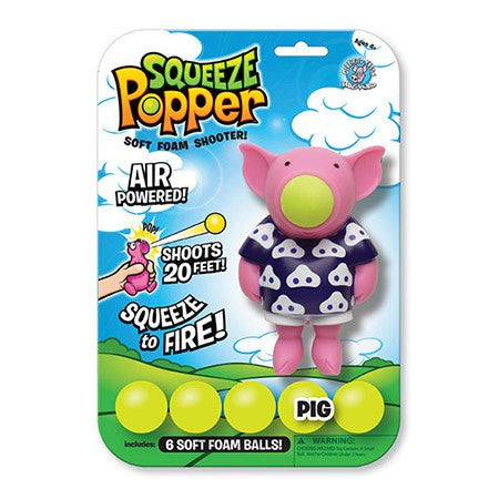 Activity Set - Squeeze Popper Animals