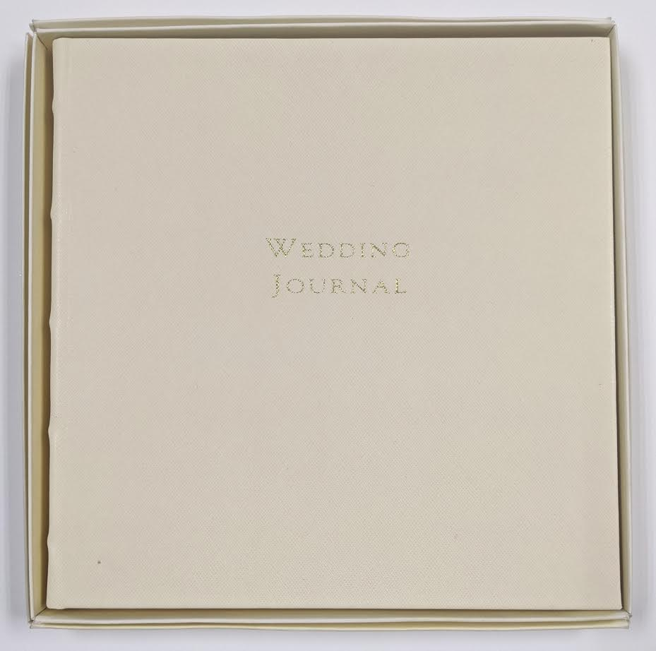WEDDING JOURNAL - GI - IVORY