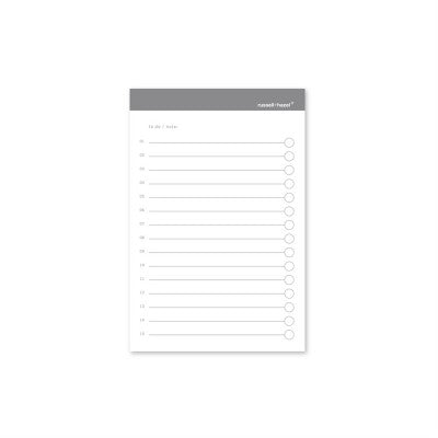 NOTEPADS -R+H- TO DO ADHESIVE NOTES