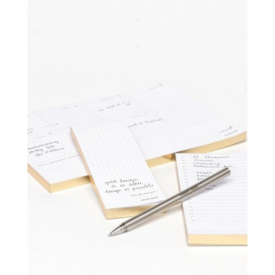 NOTEPADS -R+H- IN DUE TIME SET