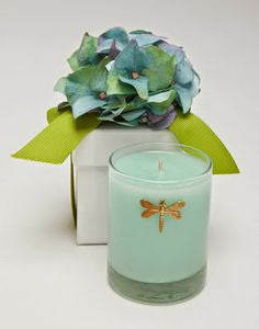 GIFT CANDLE - LF - 3 OZ BLUE HYDRANGEA CANDLE