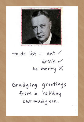 HOLIDAY TO DO LIST - GREETING CARD
