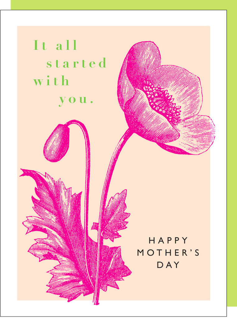 MOTHERS DAY - JF - IT ALL STARTED WITH YOU MOM