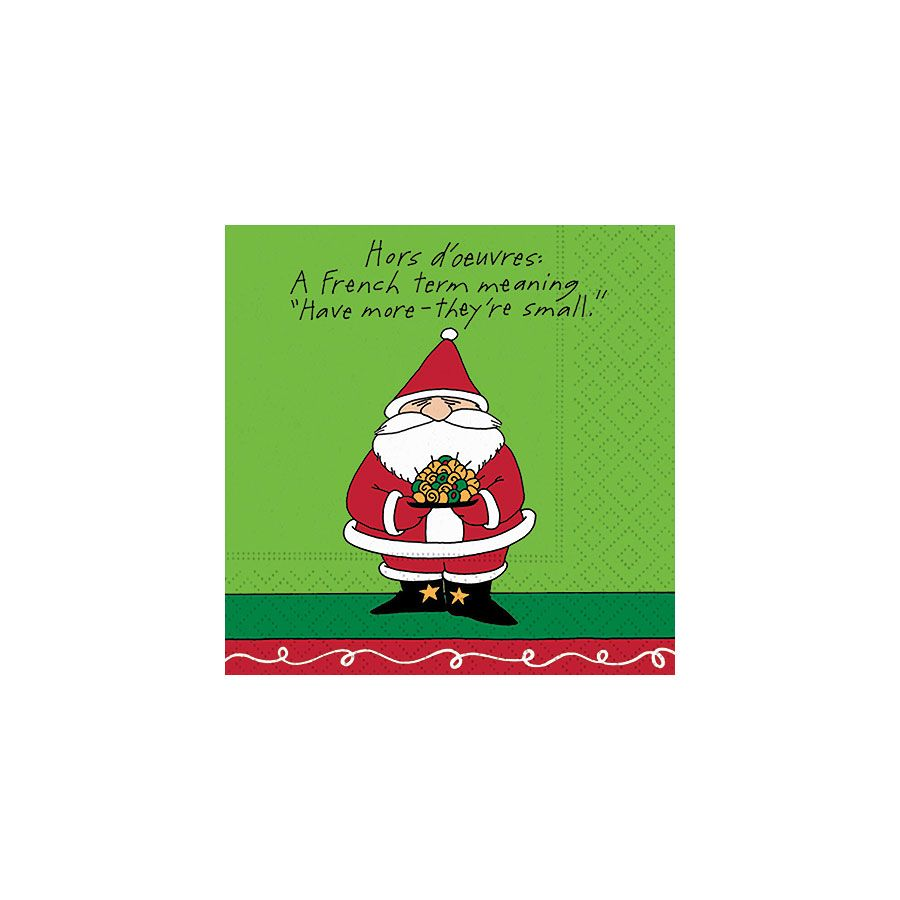 CHRISTMAS NAPKINS - DD- HAVE MORE-THEY'RE SMALL