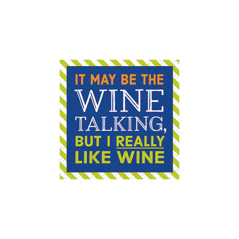 NAPKINS - DD - IT MAY BE THE WINE TALKING.....
