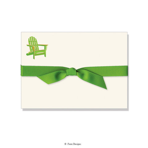 ADIRONDACK CHAIR NOTE CARDS
